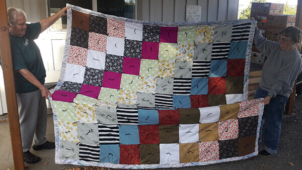 Quilts for the Homeless